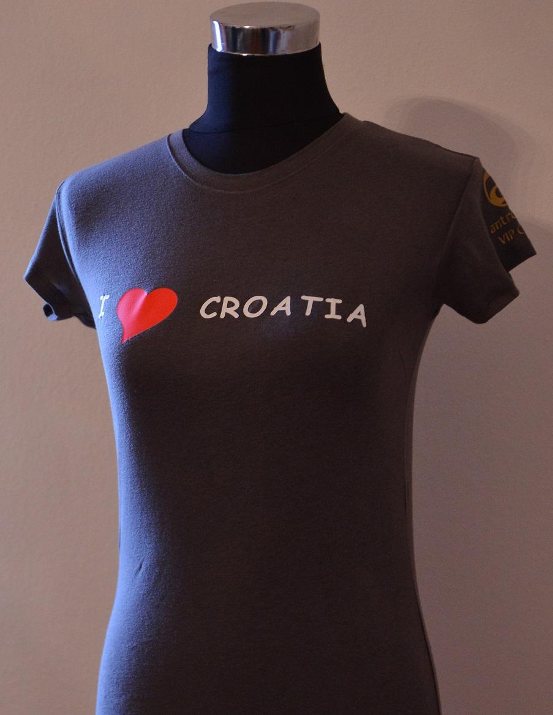 Majica antropoti – I Love Croatia